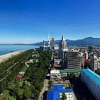 Batumi, Georgia (Greg McMullen / Wikipedia)