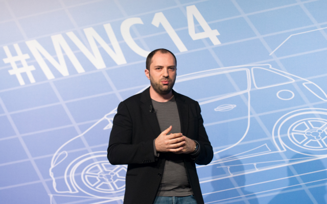 Jan Koum, founder of WhatsApp. (CC-SA/Dan Taylor/Tech.eu)