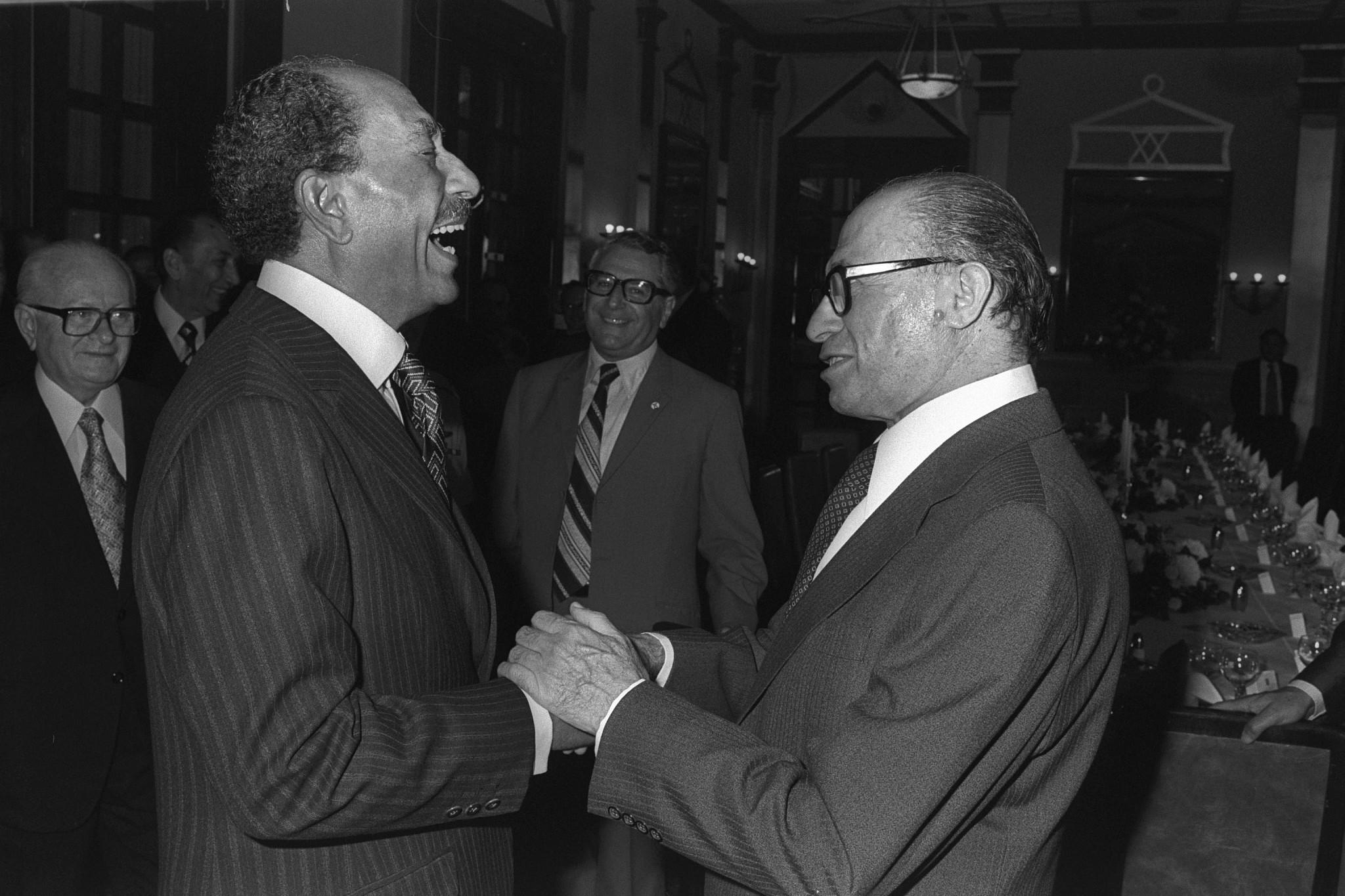 Trump signs law conferring Congressional Gold Medal on Anwar Sadat