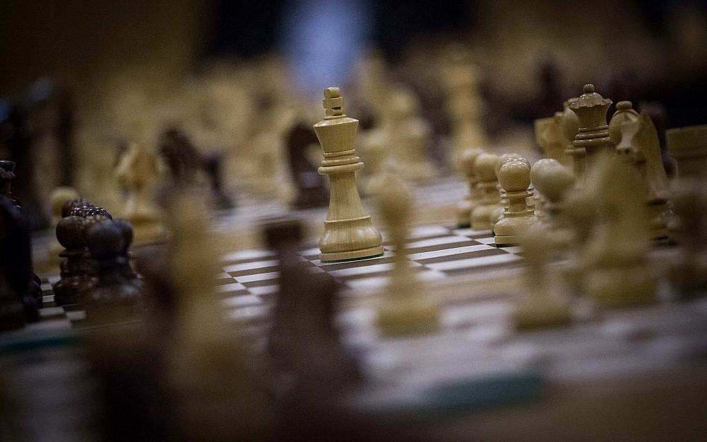Illustrative photo of a chess set. (Hadas Parush/Flash90)