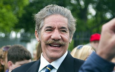 Fox News commentator Geraldo Rivera at the White House on May 2, 2011. (CC BY Mark Taylor, Wikimedia Commons)