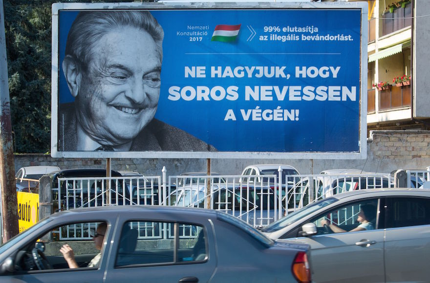 Government Officials Drive The George Soros Foundation Out Of Hungary