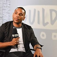 Reggie Yates during a BUILD series event at BUILD Studio London, in London, England, September 7, 2017. (Nicky J Sims/Getty Images)