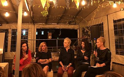 Four female culinary entrepreneurs talk about what they love and find challenging in their work, at Open Restaurants Jerusalem, the culinary event taking place November 14-18, 2017 (Courtesy Jessica Steinberg)