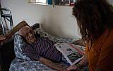 This man lives in a nursing home that has not had power since Hurricane Irma. (Marissa Roer via JTA)