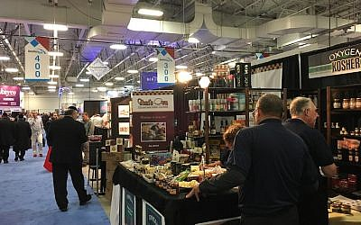 Illustrative: Kosherfest, the world's largest kosher trade show. (Josefin Dolsten)