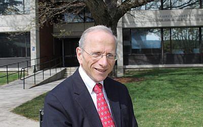 Brandeis professor and American Jewish history scholar Jonathan Sarna. (Uriel Heilman)