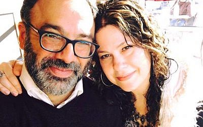 Rabbi Menachem Creditor, left, and Neshama Carlebach. (Courtesy of J. The Jewish News of Northern California)