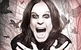 Ozzy Osbourne, 69, is coming to Israel for what he says is his final, farewell tour (Courtesy Ozzy Osbourne)