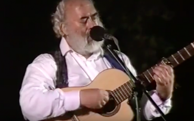Shlomo Carlebach performs in Jerusalem on March 8, 1994. (Youtube Screenshot)