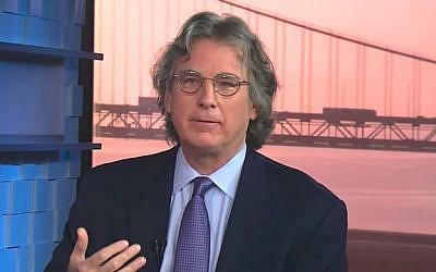 Early Facebook investor Roger McNamee. (Screen capture/YouTube)