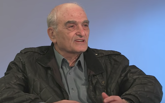 Israeli-born British Labour Party activist Moshe Machover. (Screenshot from YouTube)