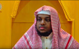 Imam AhmedulHadi Sharif of the Islamic Center of Tennessee delivers a sermon on July 24, 2017. (screen capture: YouTube)