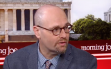 New York Times reporter Glenn Thrush appears on the Morning Joe talk show. (screen capture)