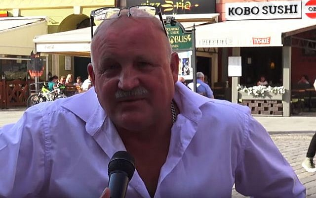 Piotr Rybak (YouTube screenshot)