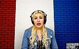 Far-right activist Laura Loomer (Screen capture: YouTube)
