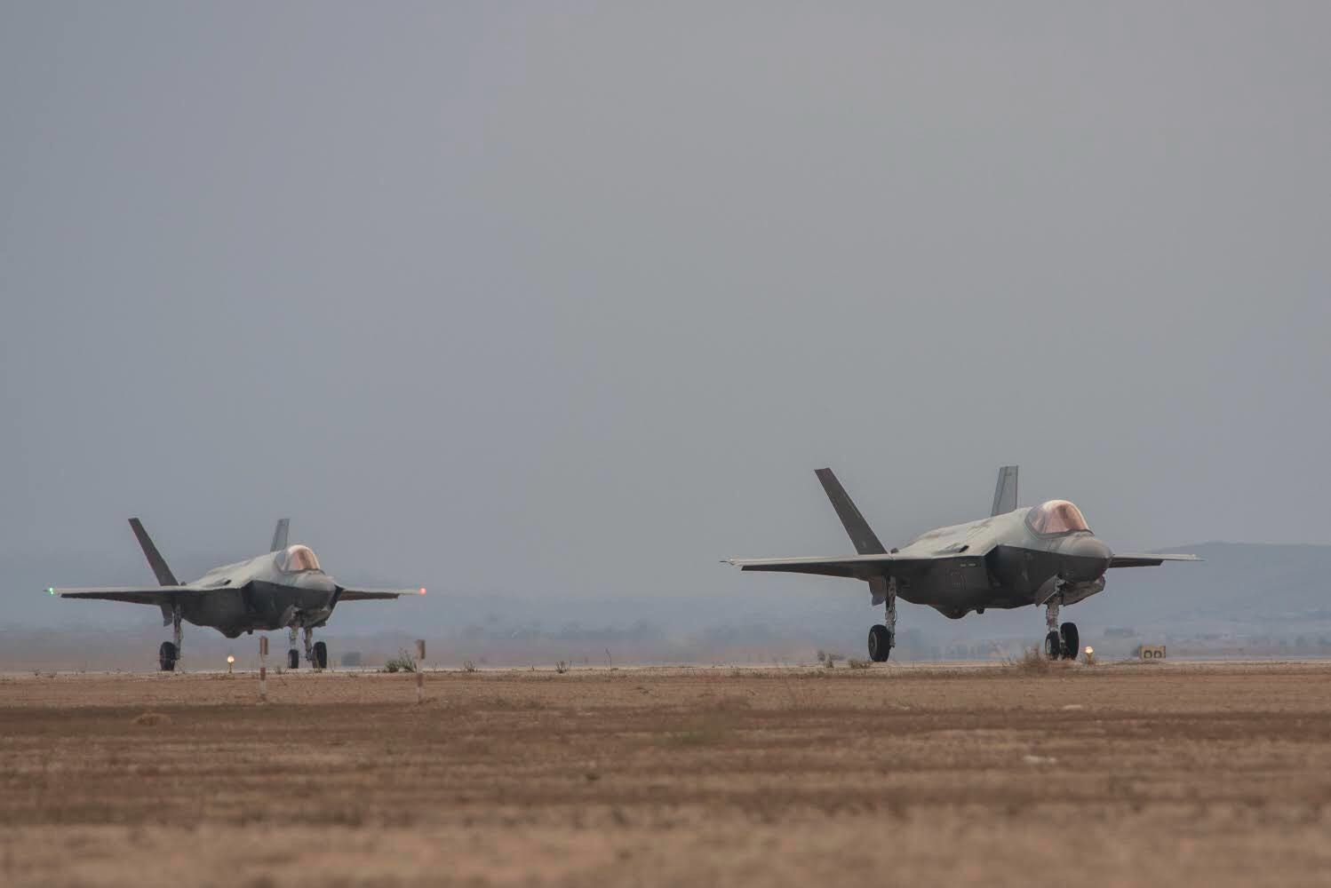 Two F-35 fighter jets land in Israel