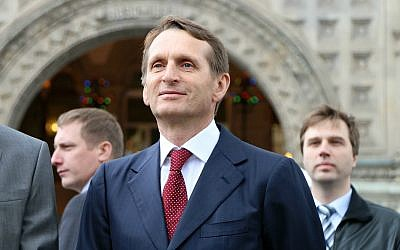 Sergey Naryshkin. (CC BY-SA 4.0, Svklimkin, Wikimedia Commons)