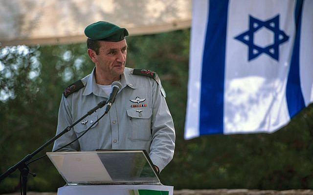 IDF Southern Command chief Maj. Gen. Herzi Halevi in an undated photograph. (Israel Defense Forces)
