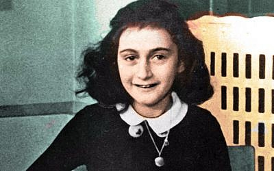 Holocaust victim Anne Frank (Flickr Commons via JTA)