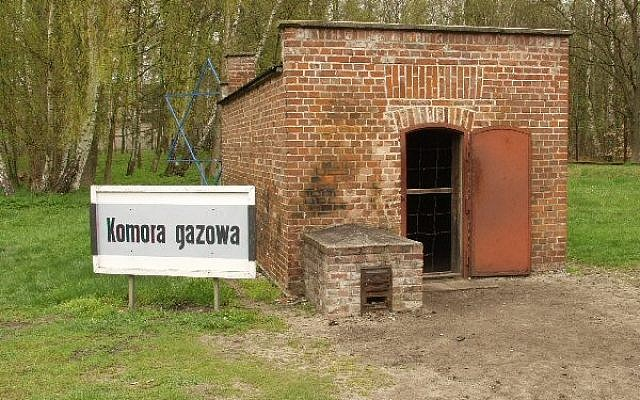 Gas chamber at Stutthof (Courtesy David Schonberg)