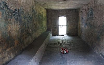 Gas chamber at Stutthof (Courtesy)