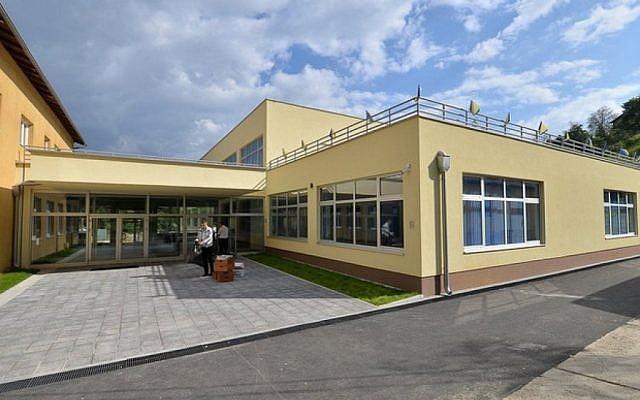 The Mustafa Busuladzic Elementary School in Sarajevo, Bosnia. (courtesy, Mustafa Busuladzic Elementary School)