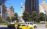 A monument of Christopher Columbus, at Columbus circle in New York City  (YouTube)