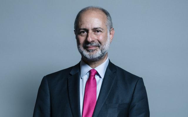 UK Labour Party spokesman on Middle East affairs, Fabian Hamilton. (Courtesy UK Parliament/CC-SA-3.0)