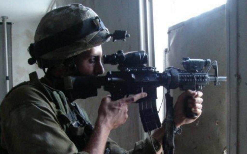 Matthew Bielski served in the IDF from 2005-2007 and fought in the 2006 Lebanon war. (Courtesy)