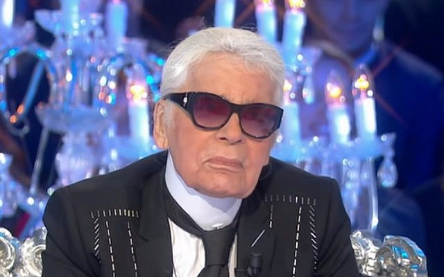 Karl Lagerfeld (YouTube screenshot)