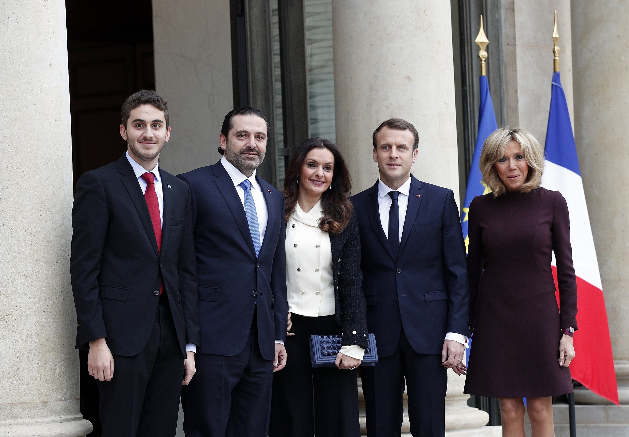 With Hariri In France Trump And Macron Discuss Countering Iran
