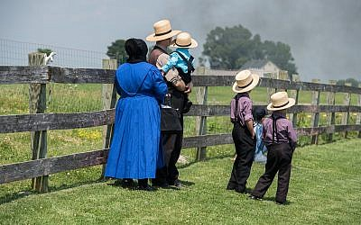 Illustrative: Amish people in Pennsylvania. (Andrea Izzotti/iStock via Getty images)