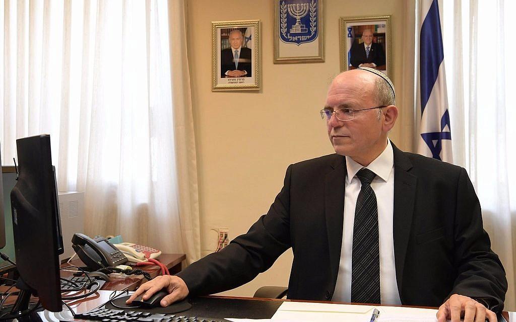 National Security Adviser Meir Ben-Shabbat. (Amos Ben Gerschom/GPO)