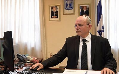 National Security Adviser Meir Ben-Shabbat. (Amos Ben Gerschom/GPO)