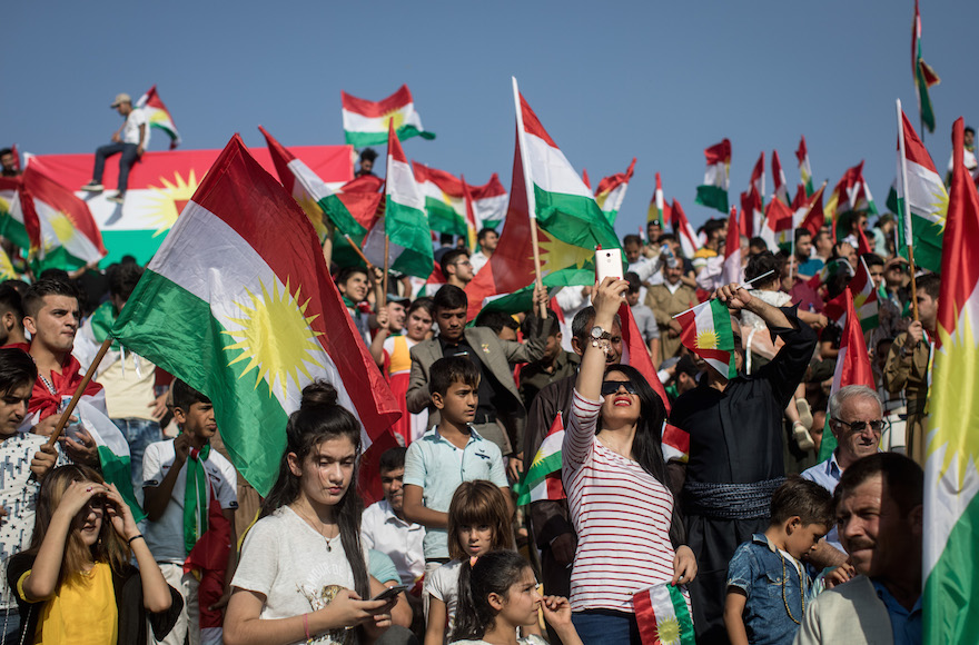 jewish activists for independent kurdistan promote cause in ny