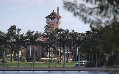 A view of the Mar-a-Lago Resort, February 2017. (Joe Raedle/Getty Images via JTA)