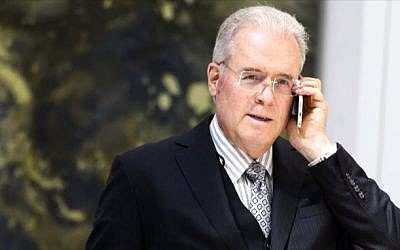 Robert Mercer, one of US President Donald Trump's biggest campaign donors (YouTube)