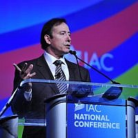 Adam Milstein, whose family foundation has donated to AIPAC's affiliate, as well as pro-Israel and Jewish groups.  (Courtesy of the Israeli-American Council via JTA)