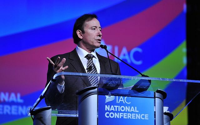 Adam Milstein (Courtesy of the Israeli-American Council via JTA)