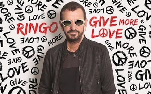 The cover of Ringo Starr's new studio album, 'Give More Love.' (Courtesy Ringo Starr)