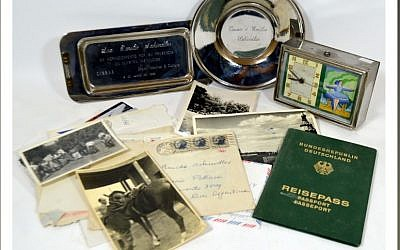 Some items from the estate of Oskar Schindler's wife Emilie up for auction on December 8, 2017. (Lawrences Auctioneers)