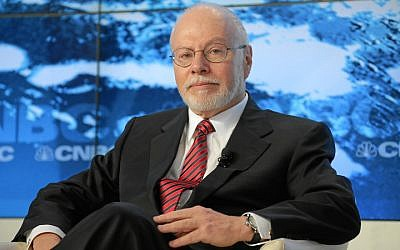 Paul Singer, seen at the Annual Meeting 2013 of the World Economic Forum in Davos, Switzerland, January 23, 2013. (Wikimedia Commons)