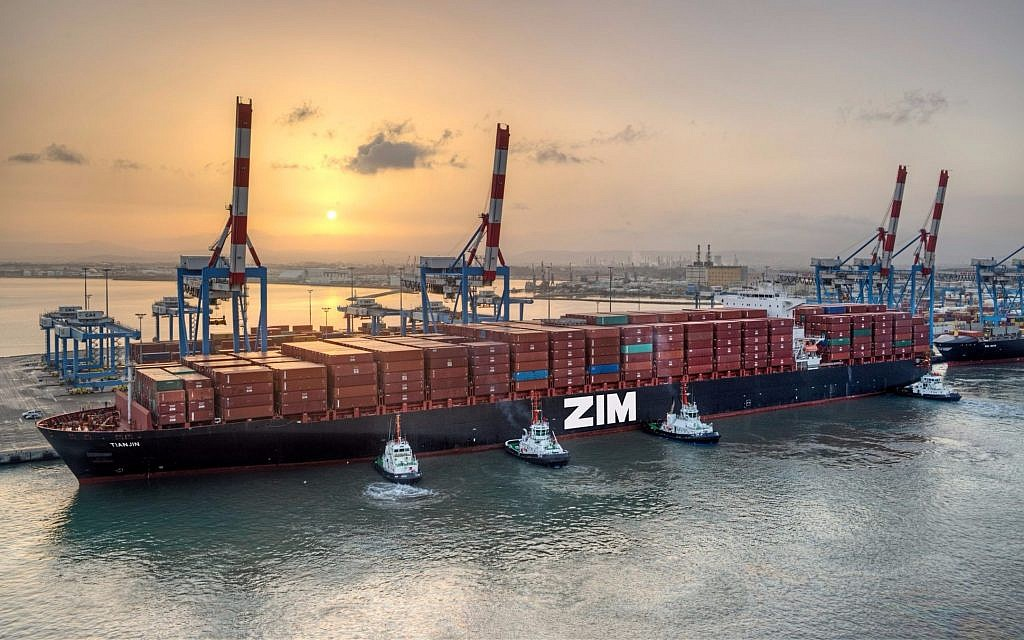 Using blockchain, Israel's Zim eyes sea change in musty shipping sector