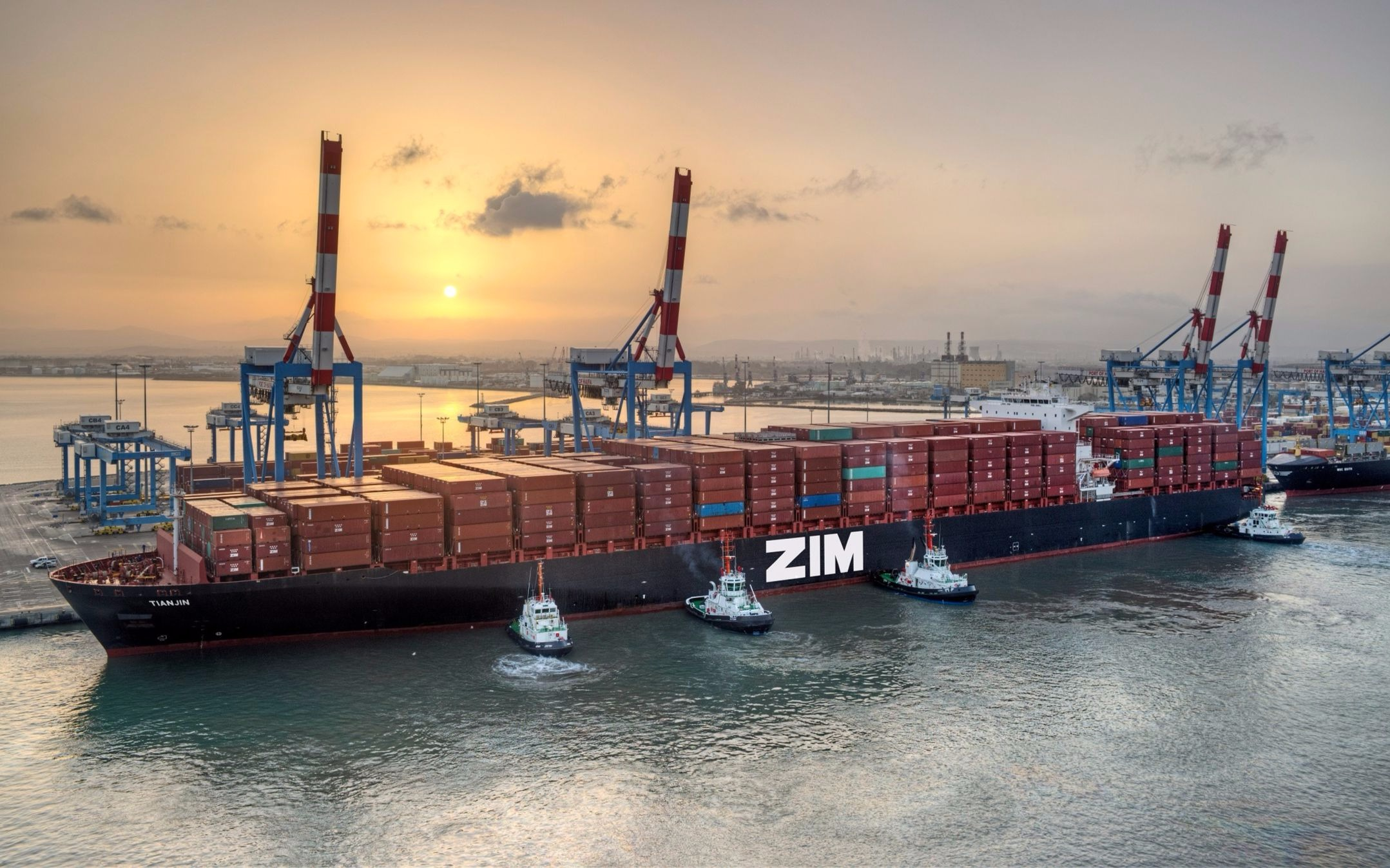 Israel's Zim strikes alliance with global shipping giants to share