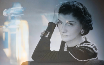 Screenshot of Coco Chanel from Stéphane Benhamou's film 'The No. 5 War.' (Courtesy)