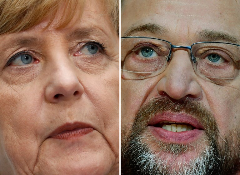 No German 'grand coalition' yet: SPD's Schulz