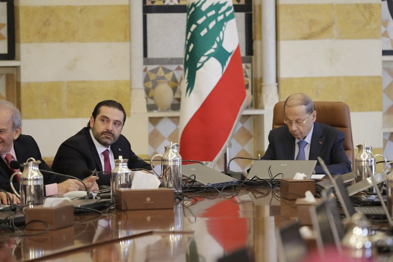 World leaders to 're-legitimise' Lebanon's Hariri at Paris talks