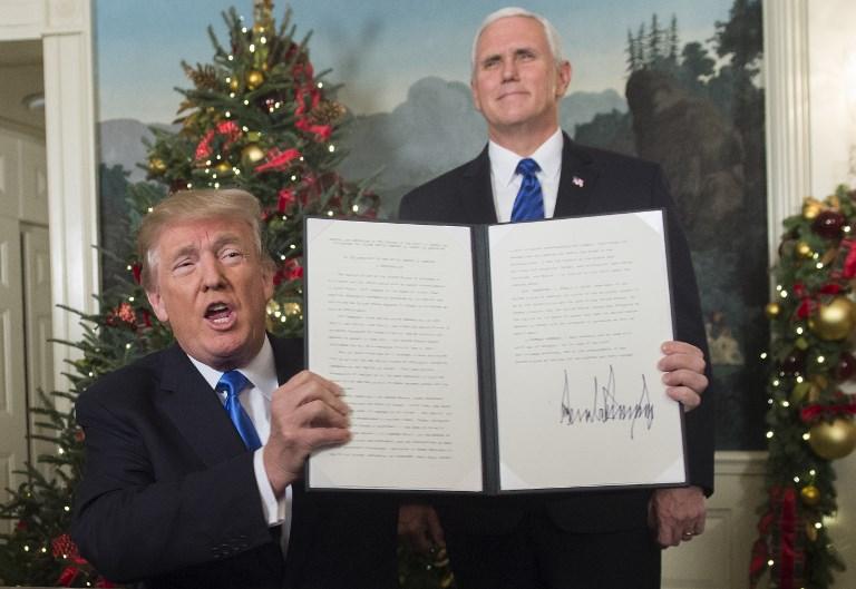 Haley: Trump isn't deciding who controls East Jerusalem