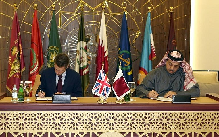 Qatar Signs 8 Billion Deal To Buy 24 Typhoon Fighters From Uk The